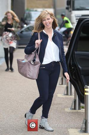 Kate Garraway - Kate Garraway outside ITV Studios - London, United Kingdom - Monday 21st September 2015