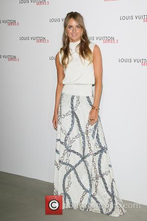 Cressida Bonas - London Fashion Week - Louis Vuitton series 3 Exhibition Launch Party - Arrivals at 180 The Strand,...