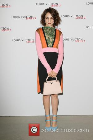 Tuppence Middleton - London Fashion Week - Louis Vuitton series 3 Exhibition Launch Party - Arrivals at 180 The Strand,...