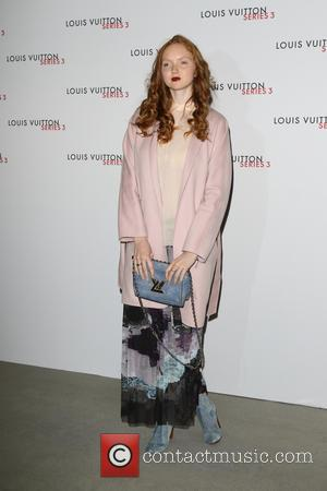Lily Cole - London Fashion Week - Louis Vuitton series 3 Exhibition Launch Party - Arrivals at 180 The Strand,...