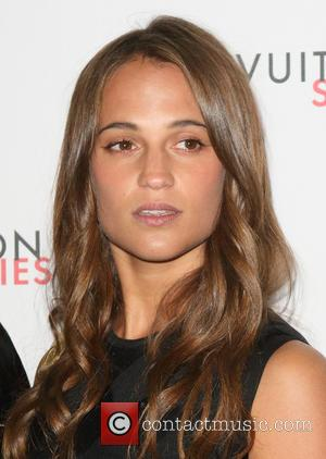 Alicia Vikander - London Fashion Week - Louis Vuitton series 3 Exhibition Launch Party - Arrivals at 180 The Strand,...