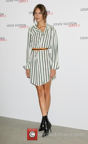 Alexa Chung - London Fashion Week - Louis Vuitton series 3 Exhibition Launch Party - Arrivals at 180 The Strand,...
