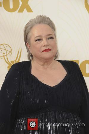 Kathy Bates - The 67th Emmy Awards arrivals at Emmy Awards - Los Angeles, California, United States - Monday 21st...