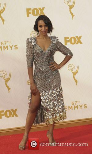 Kerry Washington - The 67th Emmy Awards arrivals at Emmy Awards - Los Angeles, California, United States - Monday 21st...