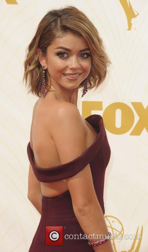 Sarah Hyland - The 67th Emmy Awards arrivals at Emmy Awards - Los Angeles, California, United States - Monday 21st...
