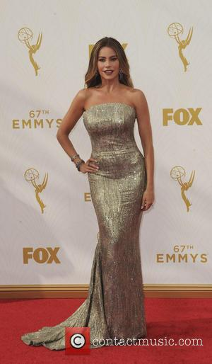 Sofia Vergara - The 67th Emmy Awards arrivals at Emmy Awards - Los Angeles, California, United States - Monday 21st...