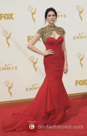 Laura Prepon - The 67th Emmy Awards arrivals at Emmy Awards - Los Angeles, California, United States - Monday 21st...