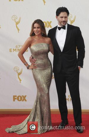 Sofia Vergara , Joe Mandaniello - The 67th Emmy Awards arrivals at Emmy Awards - Los Angeles, California, United States...