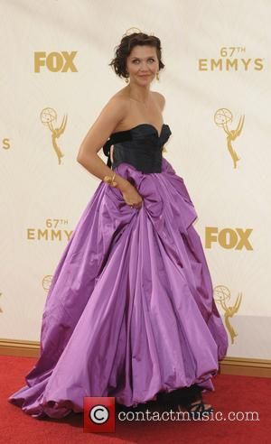 Maggie Gyllenhaal - The 67th Emmy Awards arrivals at Emmy Awards - Los Angeles, California, United States - Monday 21st...