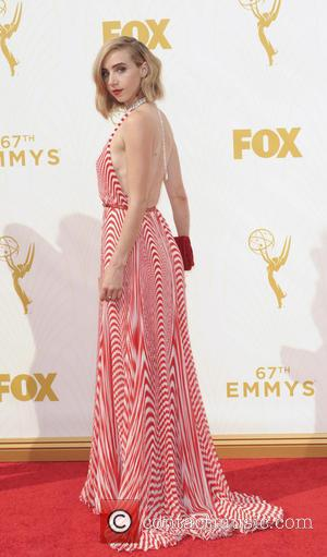 Zoe Kazan - The 67th Emmy Awards arrivals at Emmy Awards - Los Angeles, California, United States - Monday 21st...
