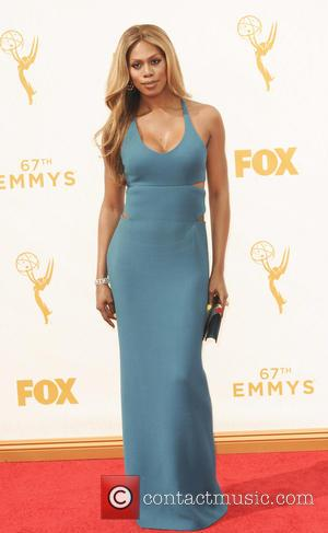 Laverne Cox - The 67th Emmy Awards arrivals at Emmy Awards - Los Angeles, California, United States - Monday 21st...