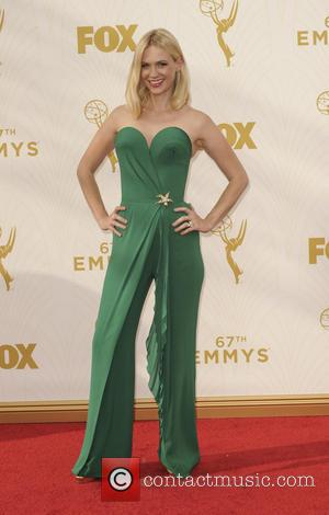 January Jones - The 67th Emmy Awards arrivals at Emmy Awards - Los Angeles, California, United States - Monday 21st...
