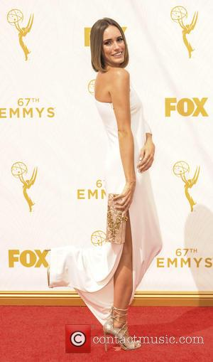 Louise Roe - The 67th Emmy Awards arrivals at Emmy Awards - Los Angeles, California, United States - Monday 21st...