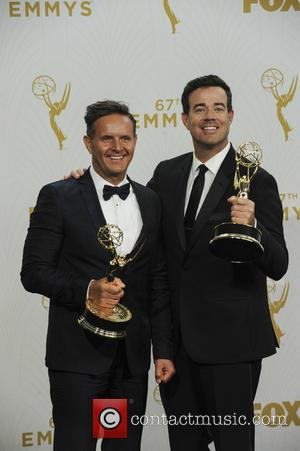 Carson Daly - The 67th Emmy Awards Pressroom at Emmy Awards - Los Angeles, California, United States - Monday 21st...