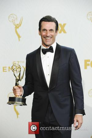Jon Hamm - The 67th Emmy Awards Pressroom at Emmy Awards - Los Angeles, California, United States - Monday 21st...