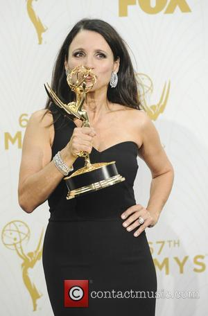 Julia Louis-Dreyfus - The 67th Emmy Awards Pressroom at Emmy Awards - Los Angeles, California, United States - Monday 21st...