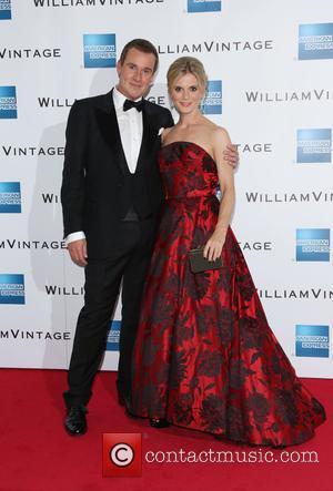 Emilia Fox , William Banks-Blaney - William Vintage VIP dinner held at Claridges - Arrivals - London, United Kingdom -...