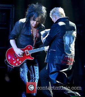 Steve Stevens and Billy Idol
