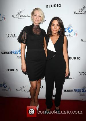 Jenna Elfman and Marisol Nichols