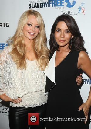 Charlotte Ross , Marisol Nichols - The Human Rights Hero Awards 2015 presented by Marisol Nichols' Foundation for a Slavery...