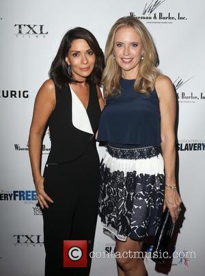 Marisol Nichols , Kelly Preston - The Human Rights Hero Awards 2015 presented by Marisol Nichols' Foundation for a Slavery...