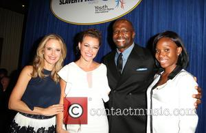 Kelly Preston, Kim Biddle, Terry Crews , Guest - The Human Rights Hero Awards 2015 presented by Marisol Nichols' Foundation...