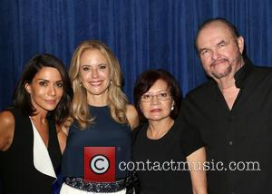 Marisol Nichols, Kelly Preston , Maria Patnick. Stepfather - The Human Rights Hero Awards 2015 presented by Marisol Nichols' Foundation...