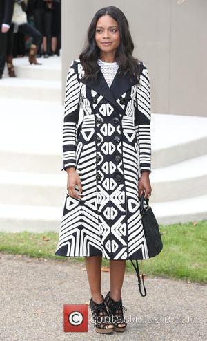 Naomie Harris - London Fashion Week Spring/Summer 2016 - Burberry - Arrivals at London Fashion Week - London, United Kingdom...