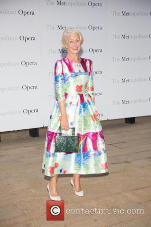 Dame Helen Mirren - Opening night of Verdi's Otello at the Metropolitan Opera House - Arrivals at Lincoln Center -...