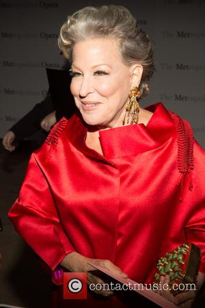Bette Midler - Opening night of Verdi's Otello at the Metropolitan Opera House - Arrivals at Lincoln Center - New...