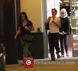 Courteney Cox And Cindy Crawford Attend Ed Sheeran's Charity Fundraiser