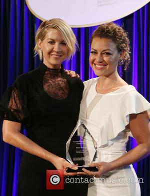 Jenna Elfman , Kim Biddle - The Human Rights Hero Awards 2015 presented by Marisol Nichols' Foundation for a Slavery...