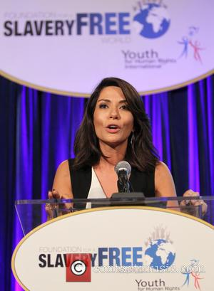 Marisol Nichols - The Human Rights Hero Awards 2015 - Inside at Beso - Hollywood, California, United States - Monday...