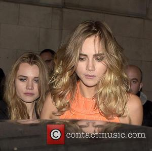 Suki Waterhouse - London Fashion Week SS16 - LOVE Magazine party at Loulou's private members club at w1, London Fashion...