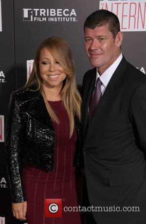 Mariah Carey , James Packer - New York premiere of Warner Bros. Pictures 'The Intern' at The Ziegfield Theater -...