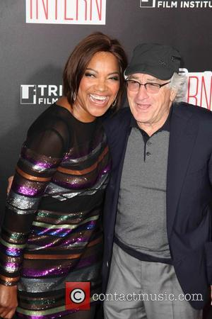 Grace Hightower , Robert De Niro - New York premiere of Warner Bros. Pictures 'The Intern' at The Ziegfield Theater...