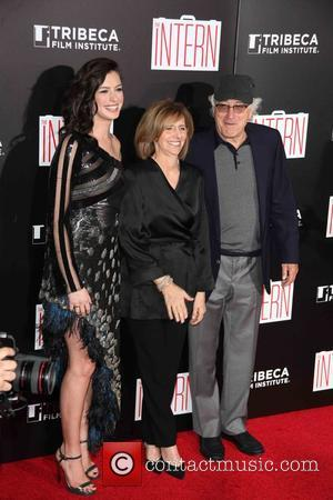 Grace Hightower, Nancy Meyers , Robert De Niro - New York premiere of Warner Bros. Pictures 'The Intern' at The...