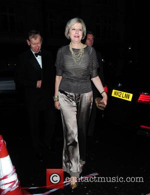 Theresa May - Celebrities spotted in Central London at London - London, United Kingdom - Tuesday 22nd September 2015