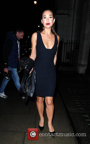 Myleene Klass - Celebrities spotted in Central London at London - London, United Kingdom - Tuesday 22nd September 2015