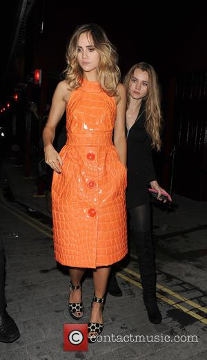 Suki Waterhouse - Celebrities at the Love Magazine Party, held at Lou Lou's - London, United Kingdom - Tuesday 22nd...