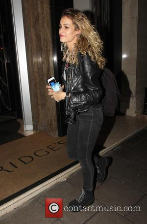 Alice Dellal - Celebrities leaving Claridge's after 4am in the morning during London Fashion Week at London Fashion Week -...