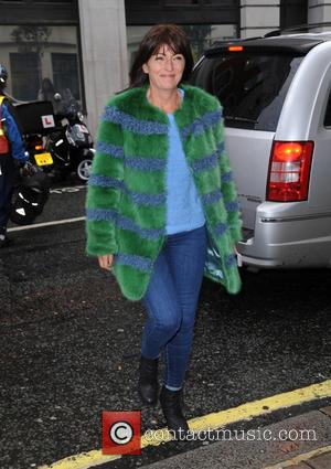 Davina McCall - Davina McCall at BBC Radio 2 - London, United Kingdom - Tuesday 22nd September 2015
