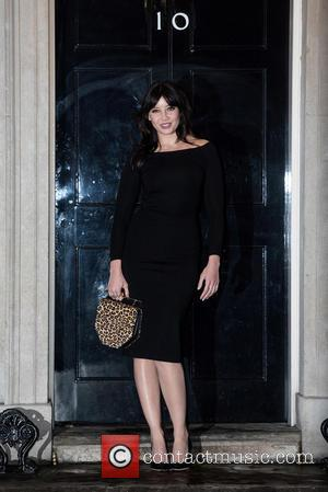 Daisy Lowe - LFW s/s 2016: Downing Street Reception held at 10 Downing Street - Arrivals. - London, United Kingdom...