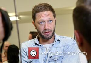Ebon Moss-Bachrach - Meet and greet with the cast of Lost Girls at the MCC Theater rehearsal space. at MCC...