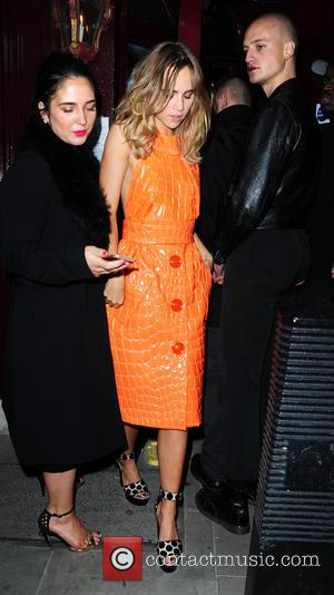 Suki Waterhouse - LOVE Magazine London Fashion Week party held at Lulu's attracted many top models last  night who...