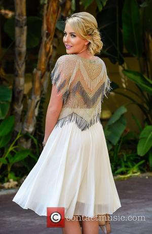 Lydia Bright - Lydia Bright leaves her hotel in Marbella to head for filming
