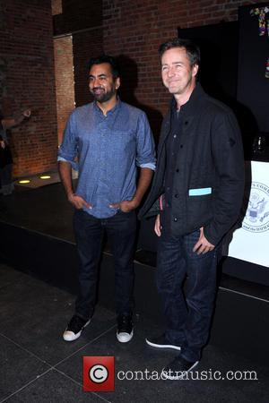 Kal Penn and Edward Norton