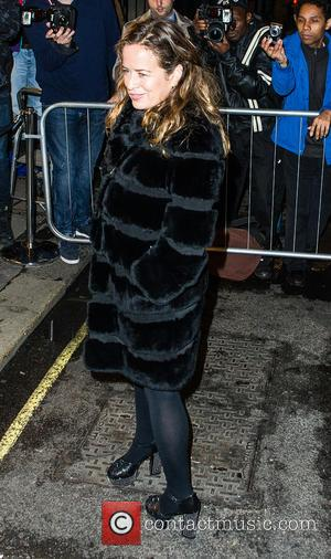 Jade Jagger - Celebrites at Victoria Beckham's Private Dinner Party during London Fashion Week - Outside at London Fashion Week...