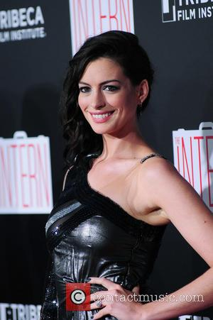 Anne Hathaway - NY Premiere of The Intern at the Ziegfeld Theater at Ziegfeld Theater - NY, New York, United...