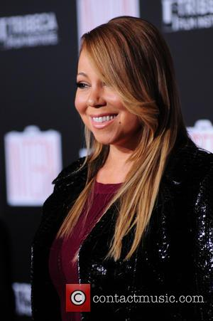 Mariah Carey - NY Premiere of The Intern at the Ziegfeld Theater at Ziegfeld Theater - NY, New York, United...